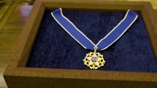 Robert Cousy Receives the Presidential Medal of Freedom