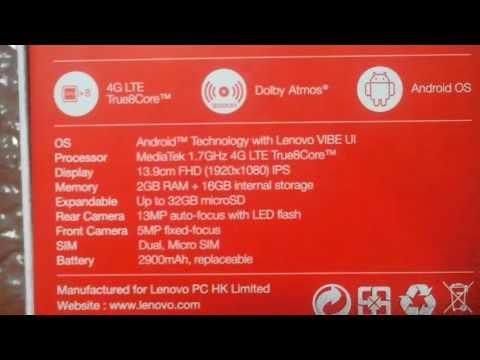 Lenovo k3 note purchased from flipkart