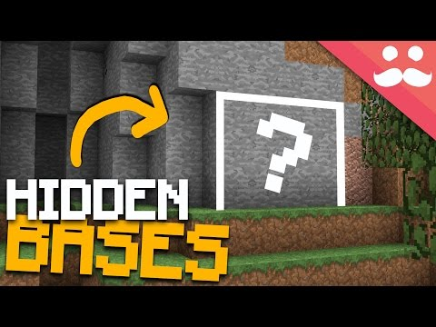 How to make HIDDEN ENTRANCES in Minecraft!