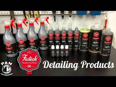 FICTECH Detailing Products: Brand Review!
