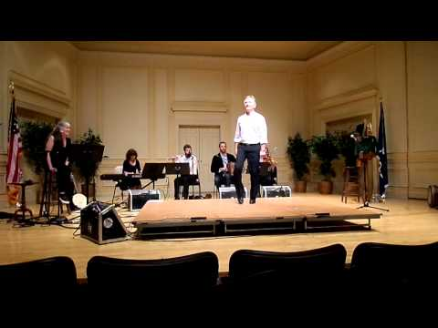 Kevin Doyle performs at the Library of Congress