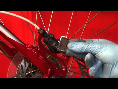 HOW TO CHANGE FIT NEW AVID JUICY HYDRAULIC BRAKE PADS