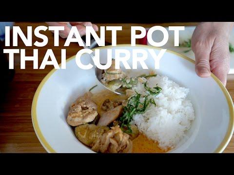 Instant Pot - Thai Chicken & Eggplant Curry