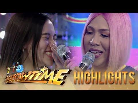 It's Showtime Miss Q & A: Vice Ganda notices Jackque's pimple