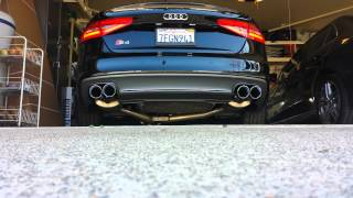 Audi B8 5 S5 3 0T AWE Track Exhaust w/ Non-Resonated