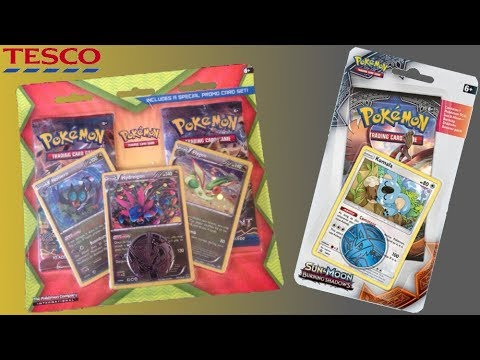 Opening some Cheap Pokémon Cards from Tesco!