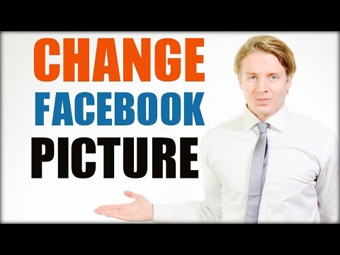 How to change Facebook profile picture - 2016