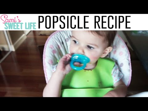 Quick & Easy Cherry Popsicles for Toddlers (or anyone!) Recipe