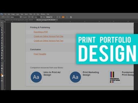 Designing Print Portfolios