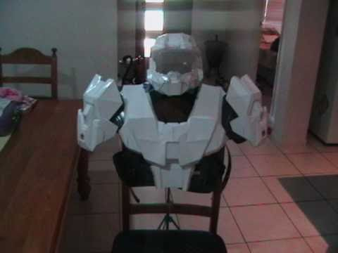 My FIRST Halo Armour - Pepakura - playithub net