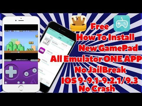 How To Get N64 NDS GBA PSP MAME GBC Emulators FREE iOS 9-9.1-9.2.1/9.3 NO Jailbreak iPhone,iPad,iPod