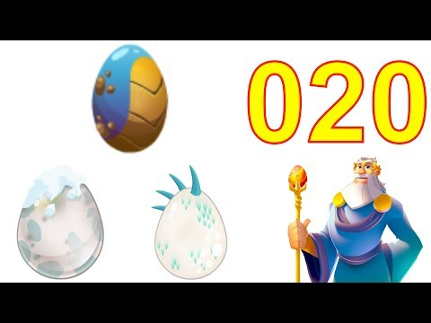 Dragon City Gameplay Tutorial Part 20 Level 19 Got Monstruous, Alpine & Great White Dragon Egg