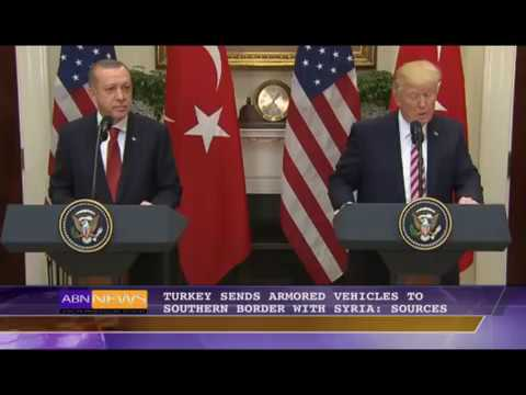 ABN Main News@ 6: Turkey Sends Armored Vehicles To Southern Border With Syria