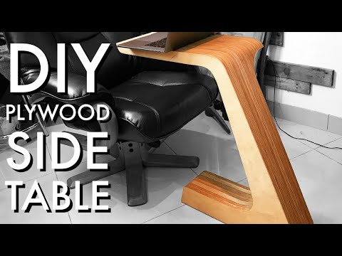 DIY Plywood Side Table || Brothers Make