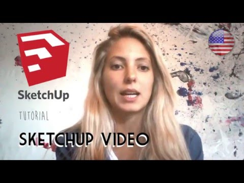 SketchUp creating and exporting Video ANIMATION
