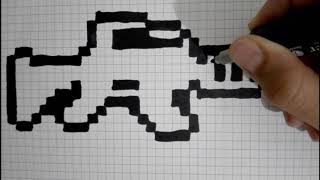 Comment Dessiner Un Skieur Pixel Art