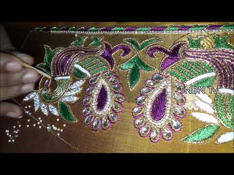 how to make maggam work blouse designs | new blouse designs | Latest Blouse Designs | TNBN Tv Live