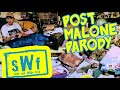 """POST MALONE - """"PSYCHO""""   HOARDERS PARODY   Seth and Willie Fred - """"Hobo"""" (Music Video)"""