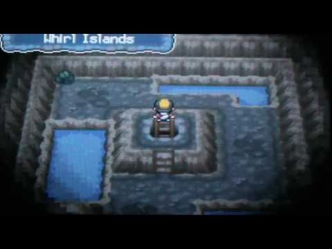 Hidden Rare Candy on Whirl Islands - Pokemon Soul Silver