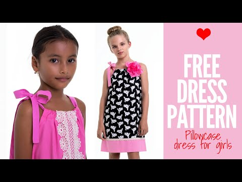 Free Girls Dress Pattern - Pillowcase Dress