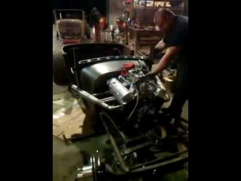 The 29 Roadster Rat Rod runs!