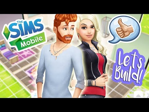 BUILD & CUSTOMIZE Your Home - TUTORIAL | THE SIMS MOBILE