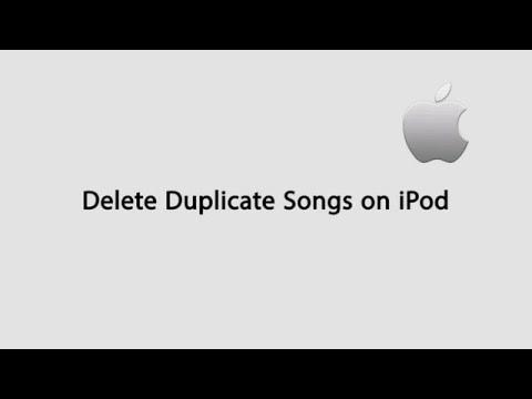 Delete Duplicate Songs on iPod/iPhone/iPad Easily