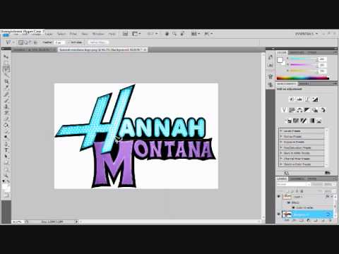 how to change logo colours tutorial