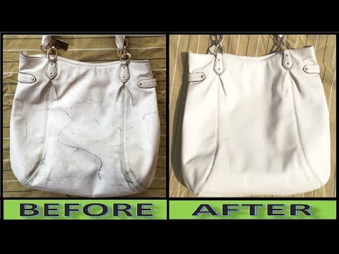 How to Clean Dirty Hand Bag at Home == Amazing Result