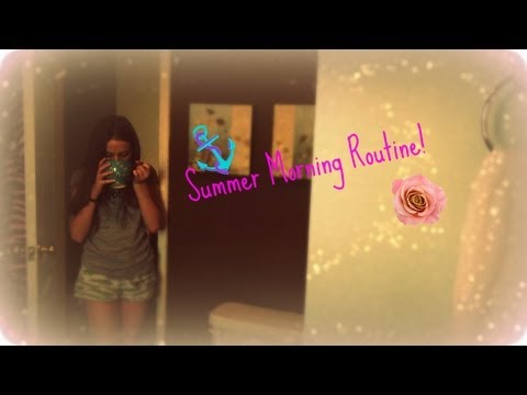 Summer Morning Routine 💜