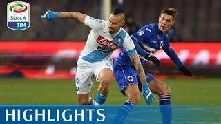 Napoli - Sampdoria 2-1 - Highlights - Giornata 19 - Serie A TIM 2016/17