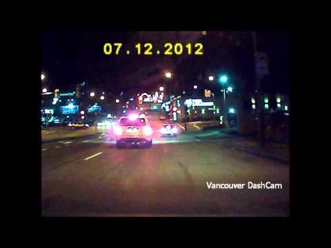 Red Light Camera Flash