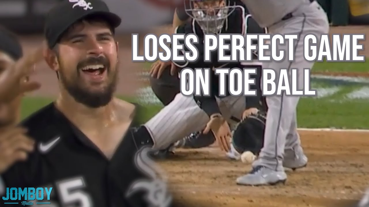 Carlos Rodón loses perfect game on a toe ball but gets no hitter, a breakdown