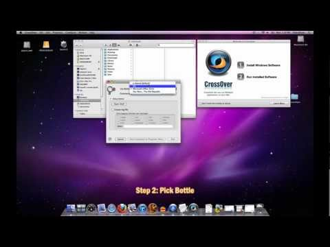 How To Use the Run Command in CrossOver Mac