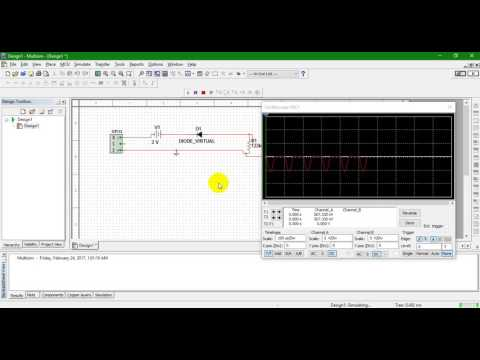 Simulation of Diode Clipping and Clamping Circuits Using Multisim