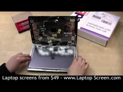 Laptop screen repair, touch screen repair [HP TX2500]