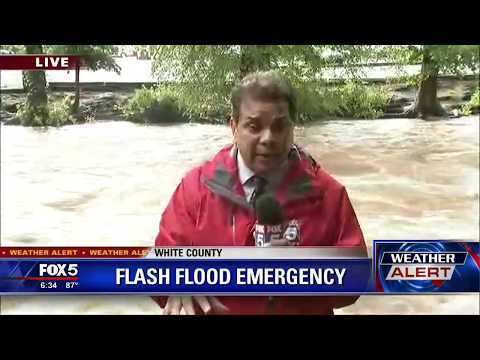 Flash Flood Emergency in White County