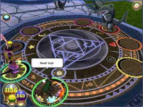 Wizard 101- Krokopatra minion spell