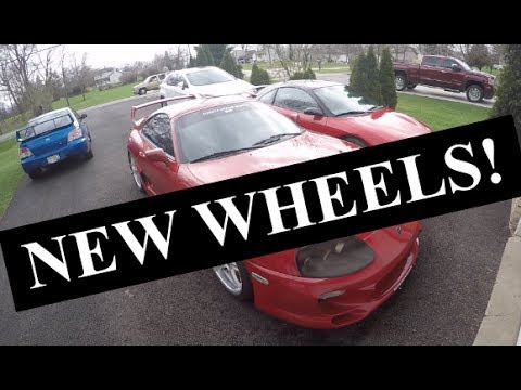 STI GETS NEW WHEELS AND GETS CALLED RICER! + SUPRA + IS-F | VLOG2