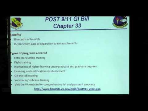 Montgomery & Post 9/11 GI Bill Information & Benefits