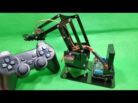 Build A Acrylic RC Robot Arm With DIY KIT