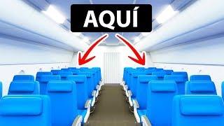 Elige este lugar en el avión para tener un mejor servicio