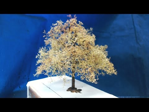 How I Make My Trees In 1/35 scale
