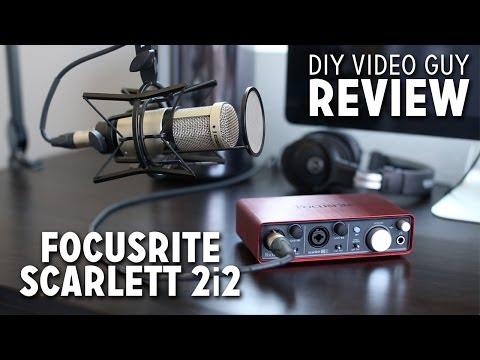 Focusrite Scarlett 2i2 Review + Set-up Walkthrough