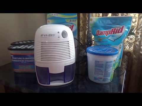 How to reduce humidity and get rid of mold in your house. Budget Friendly products reviews