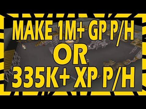 Make 1M+ GP PER HOUR Or 335k XP Per Hour | In Depth Blast Furnace Guide