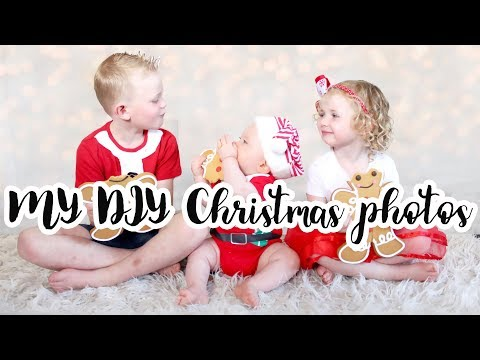 My DIY Christmas photos | Vlogmas day 18