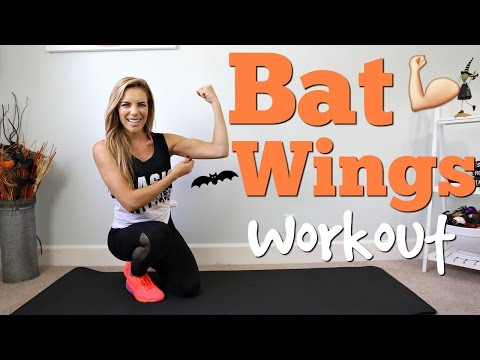 Bye Bye BAT WINGS | Tricep & Arm Workout