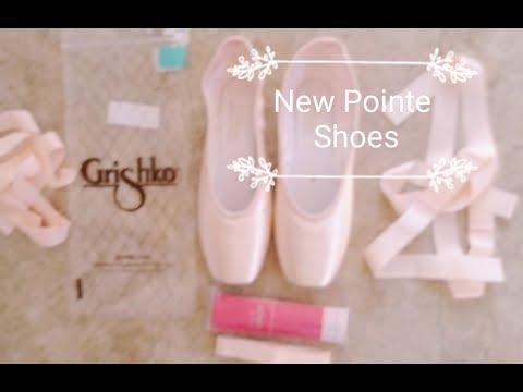 Grishko Nova Pointe Shoe Unboxing // Try On