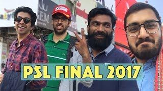 PSL Final 2017 (Vlog) | MangoBaaz